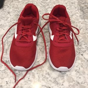 Athletic Works tennis shoes. Red. 8 1/2. NWOT